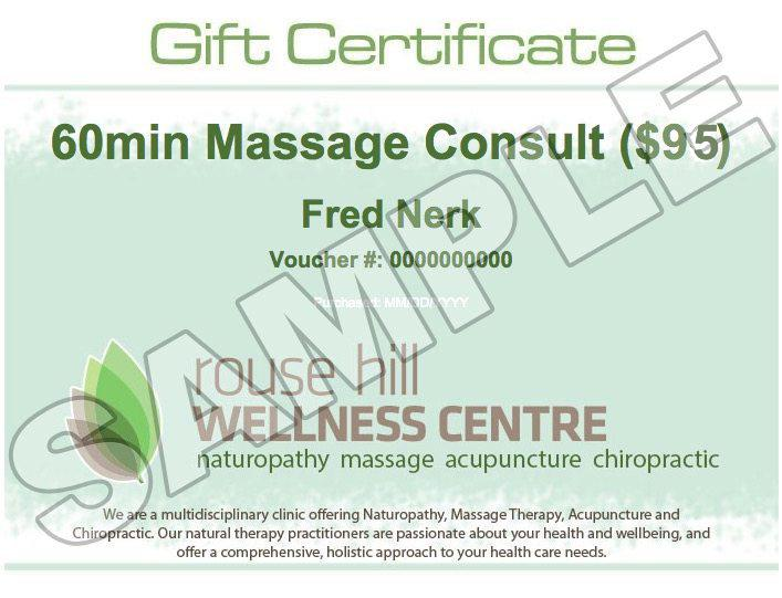 Gift Certificate Pricing